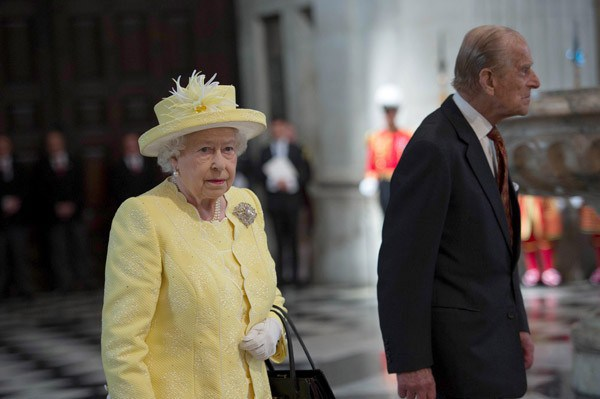 A rainha Elizabeth II e o príncipe Philip (Foto: WPA Pool / Getty Images)