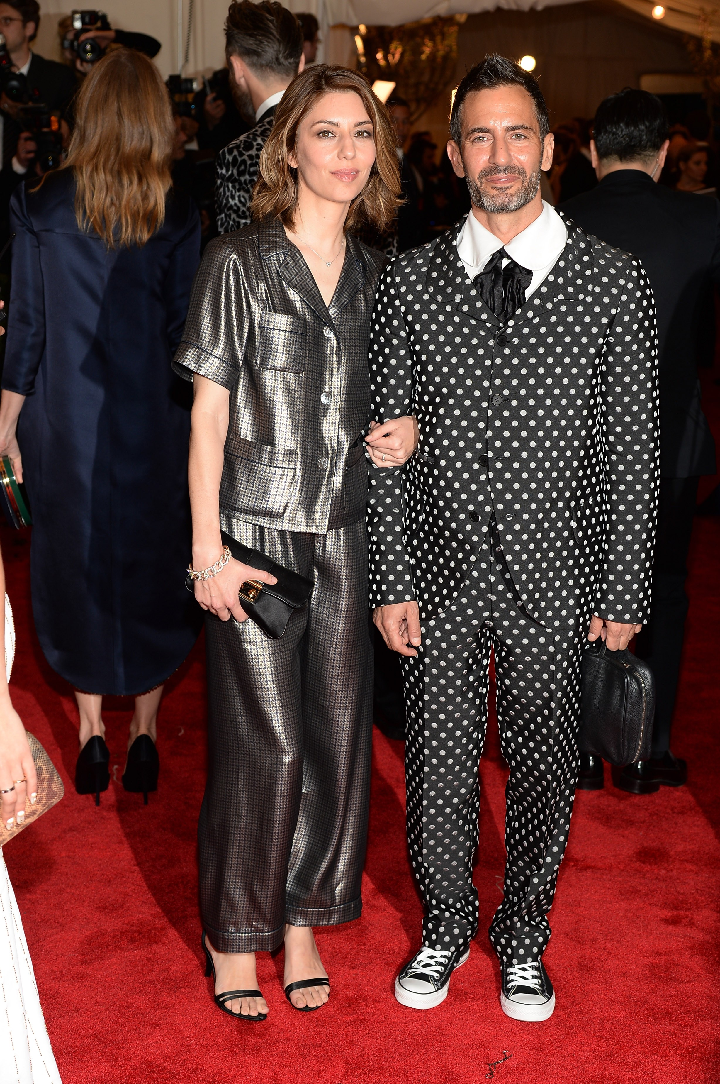 De poá no red carpet com a amiga Sofia Coppola (Foto: Getty Images)